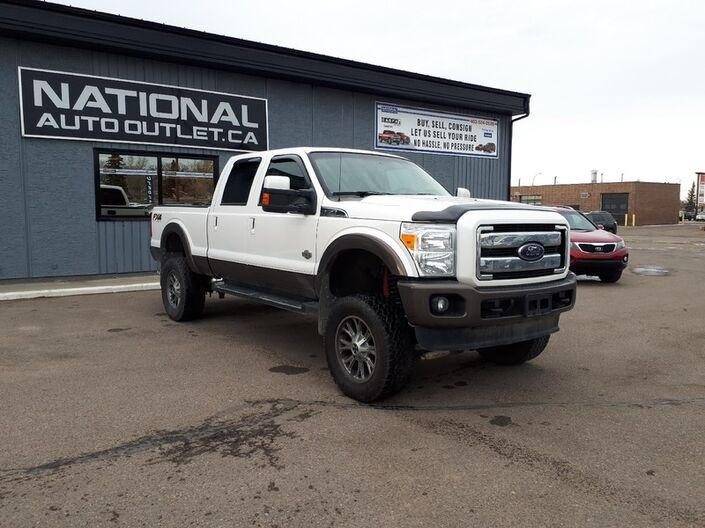 2015 Ford Super Duty F-350 SRW King Ranch - CLEAN CARPROOF, FULLY LOADED Lethbridge AB