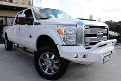 2015_Ford_Super Duty F-350 SRW_Platinum TEXAS BORN ,LIFTED, CLEAN CARFAX_ Houston TX