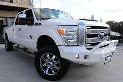 Ford Super Duty F-350 SRW Platinum TEXAS BORN ,LIFTED, CLEAN CARFAX 2015