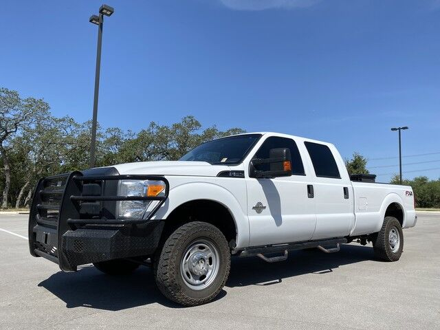 2015 Ford Super Duty F-350 SRW XL 4x4 6.7L Powerstroke Diesel Crew Cab