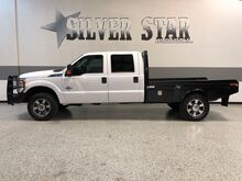 2015_Ford_Super Duty F-350 SRW_XLT 4WD SRW CrewcCab Powerstroke Hydra FlatBed_ Dallas TX