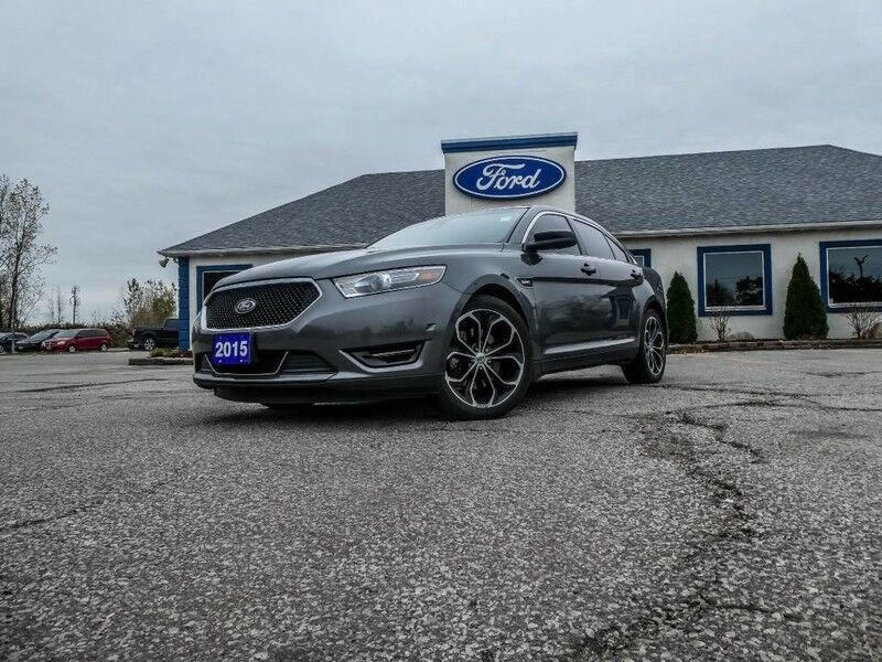 2015 Ford Taurus SHO PACKAGE- SUNROOF- LOADED- LEATHER- NAVIGATION- HEATED SEATS Essex ON