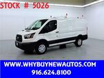 2015 Ford Transit 250 ~ Diesel ~ Ladder Rack & Shelves ~ Only 43K Miles!