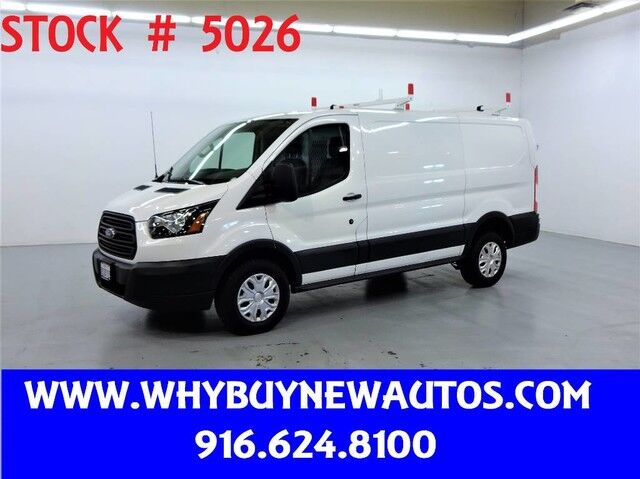 2015 Ford Transit 250 ~ Diesel ~ Ladder Rack & Shelves ~ Only 43K Miles! Rocklin CA