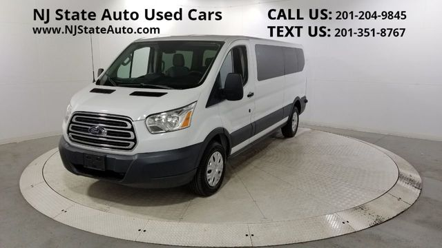 "2015 Ford Transit Wagon T-350 148"" Low Roof XLT Sliding RH Dr Jersey City NJ"