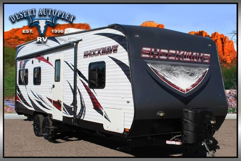 2015 Forest River Shockwave T24FQ MX Toy Hauler Mesa AZ