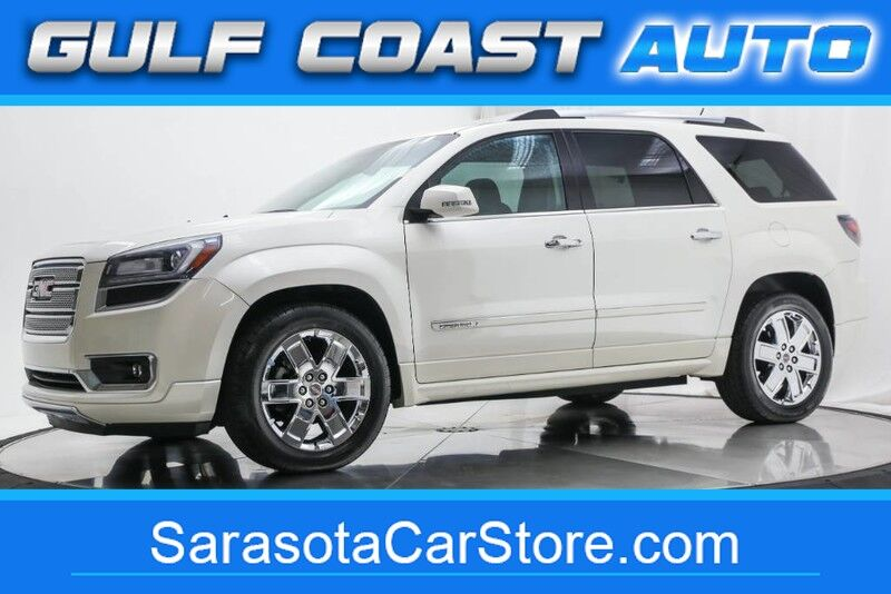 2015_GMC_ACADIA_DENALI LEATHER NAVI SUNROOF 3RD ROW LOADED NEW TIRES_ Sarasota FL