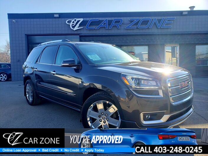2015 GMC Acadia Denali Fully Loaded EASY LOANS Calgary AB