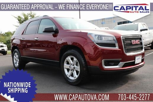 2015 GMC Acadia SLE-2 Chantilly VA