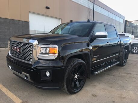 2015_GMC_Sierra 1500 Denali_4x4 Loaded...Literally Every Option except Factory DVD ~ Call 888-299-8130 Low as $339 B/W_ Sherwood Park AB