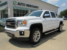 2015_GMC_Sierra 1500_SLT Crew Cab Long Box 4WD,Leather Seats,Navigation System,Back-Up Camera_ Plano TX