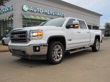 2015_GMC_Sierra 1500_SLT Crew Cab Short Box 4WD 6.2L 8CYL AUTOMATIC, 4WD, LEATHER SEATS, NAVIGATION, BACKUP CAMERA_ Plano TX