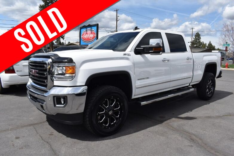 2015 GMC Sierra 2500HD 4WD Crew Cab 153.7 SLT Bend OR