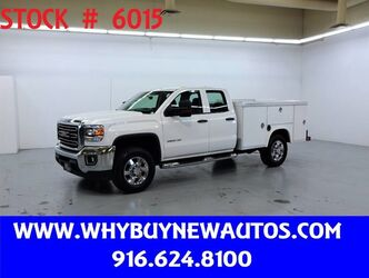 GMC Sierra 2500HD Utility ~ Double Cab ~ Only 59K Miles! 2015