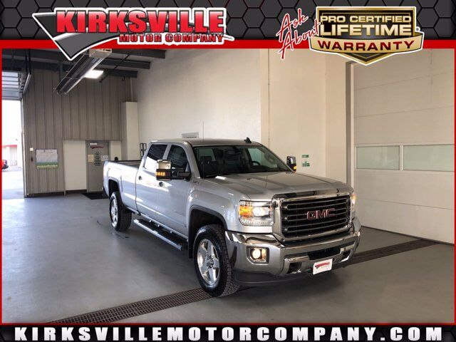 "2015 GMC Sierra 2500HD available WiFi 4WD Crew Cab 167.7"" SLT Kirksville MO"