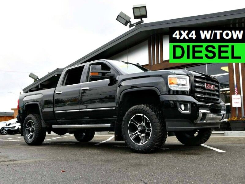 2015 GMC Sierra 3500HD WiFi 4X4 4WD LEATHER NEW TIRES DURAMAX ALLISON TRANY