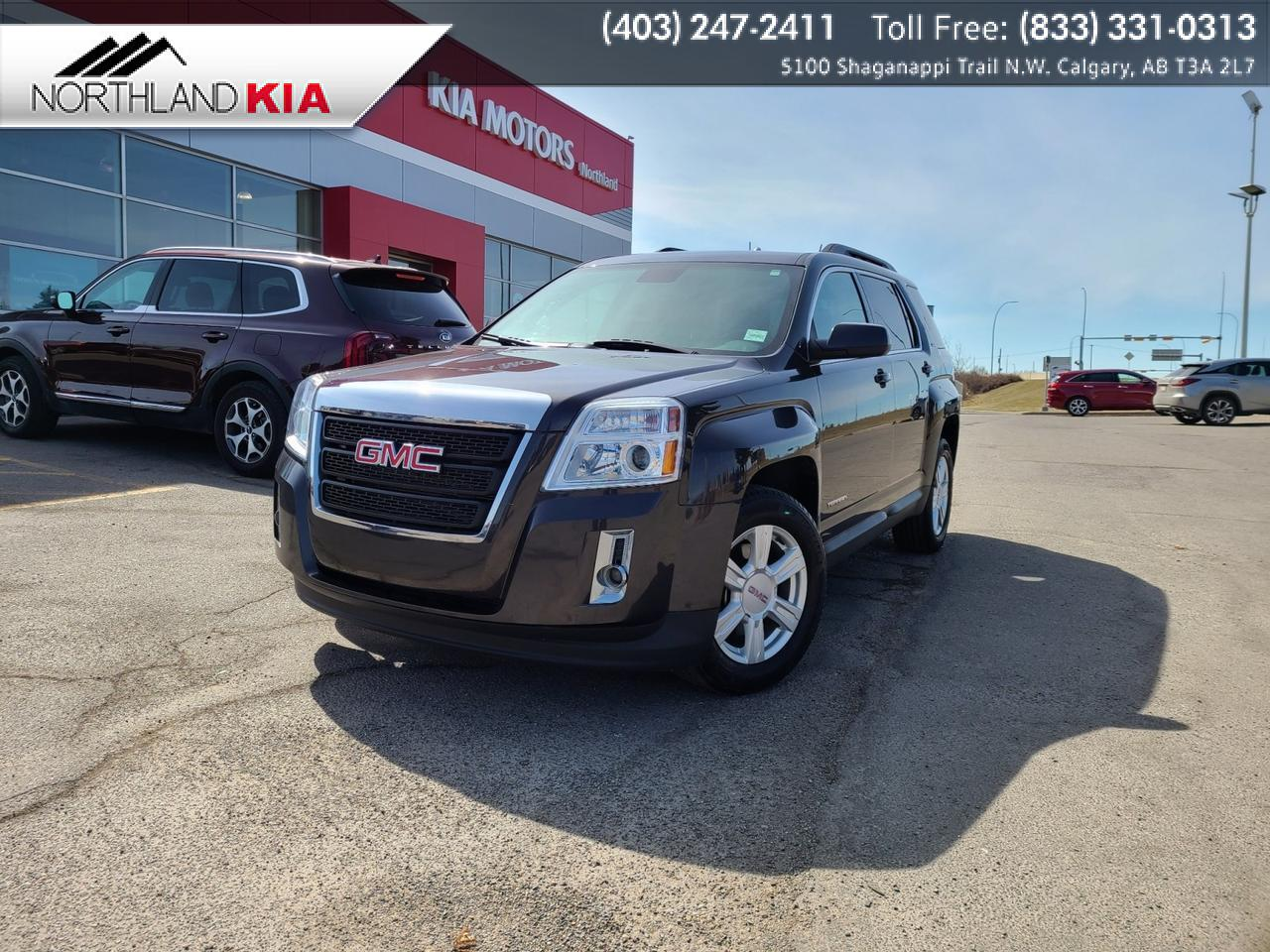 2015 GMC Terrain SLE ALL-WHEEL DRIVE, SUNROOF, HEATED SEATS, BACKUP CAMERA Calgary AB