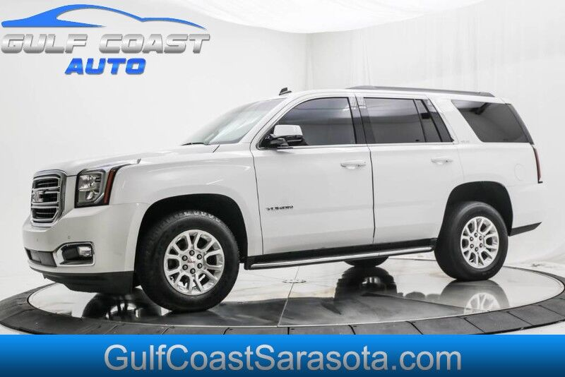 2015_GMC_YUKON_SLE LOW MILES 3RD ROW REAR CAMERA EXTRA CLEAN FL SUV_ Sarasota FL