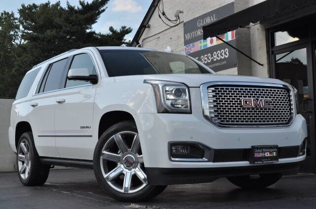 2015 GMC Yukon Denali/AWD/Keyless Start/Htd & Ventilated Front Seats/Pwr Fold & Tumble Htd 2nd Row Captains/Pwr Folding 3rd Row/Htd Steering Wheel/HUD/Blind Zone Alert, Rear Cross Traffic Alert, Fwd Collision Alert Nashville TN