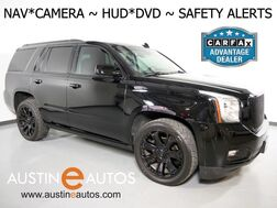 2015_GMC_Yukon Denali_*HEADS-UP DISPLAY, REAR DVD, NAVIGATION, ADAPTIVE CRUISE, COLLISION ALERT, BLIND SPOT ALERT, MOONROOF, LEATHER, CLIMATE SEATS, BOSE AUDIO, BLUETOOTH_ Round Rock TX