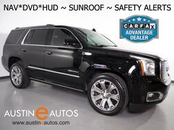 2015_GMC_Yukon Denali_*NAVIGATION, HEADS-UP DISPLAY, REAR DVD, BLIND SPOT ALERT, COLLISION ALERT, MOONROOF, 2ND ROW BUCKET SEATS, LEATHER, CLIMATE SEATS, BLUETOOTH_ Round Rock TX