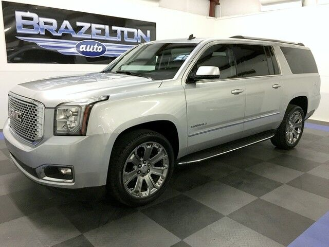 2015 GMC Yukon XL Denali, Nav, Roof, DVD, Bench, 22s Houston TX