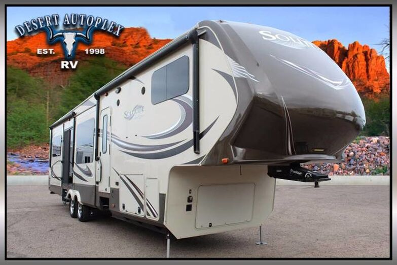 2015 Grand Design Solitude 375RE Five Slide Fifth Wheel RV Mesa AZ