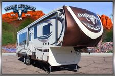 2015 Heartland Bighorn 3160EL Triple Slide Fifth Wheel RV