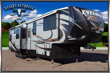 2015 Heartland Cyclone 4000 Triple Slide Fifth Wheel Toy Hauler