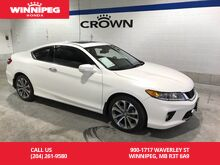 2015_Honda_Accord Coupe_Leather/One Owner/ Heated seats/ Navigation_ Winnipeg MB