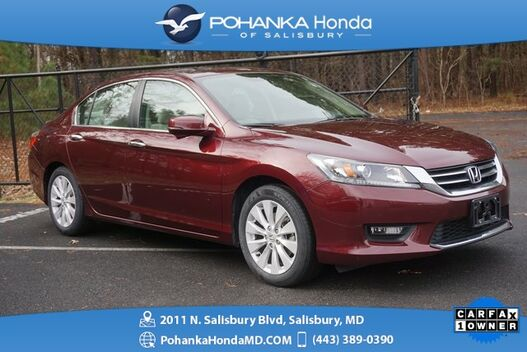 2015_Honda_Accord_EX ** 1 OWNER ** HONDA CERTIFIED 7 Year / 100,000 **_ Salisbury MD