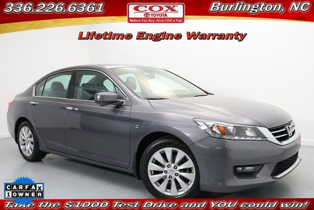 2015 Honda Accord EX-L Burlington NC