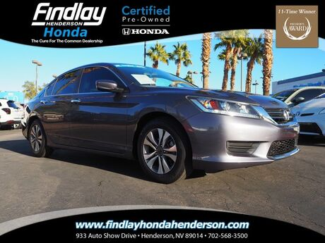 2015 Honda Accord LX Henderson NV