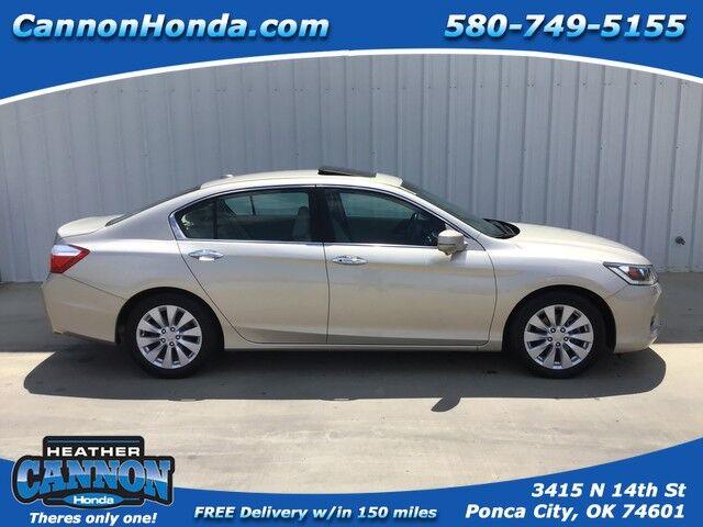 2015 Honda Accord Sedan EX-L Ponca City OK