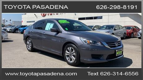 2015 Honda Accord Sedan LX Pasadena CA