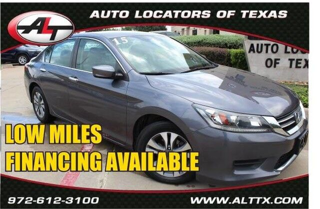 2015 Honda Accord Sedan LX Plano TX
