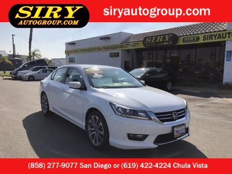 2015 Honda Accord Sedan Sport San Diego CA
