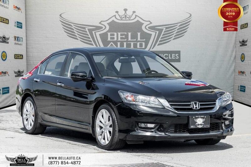 2015 Honda Accord Sedan Touring, NAVI, SUNROOF, BLIND SPOT CAM, BACK-UP CAM, LEATHER