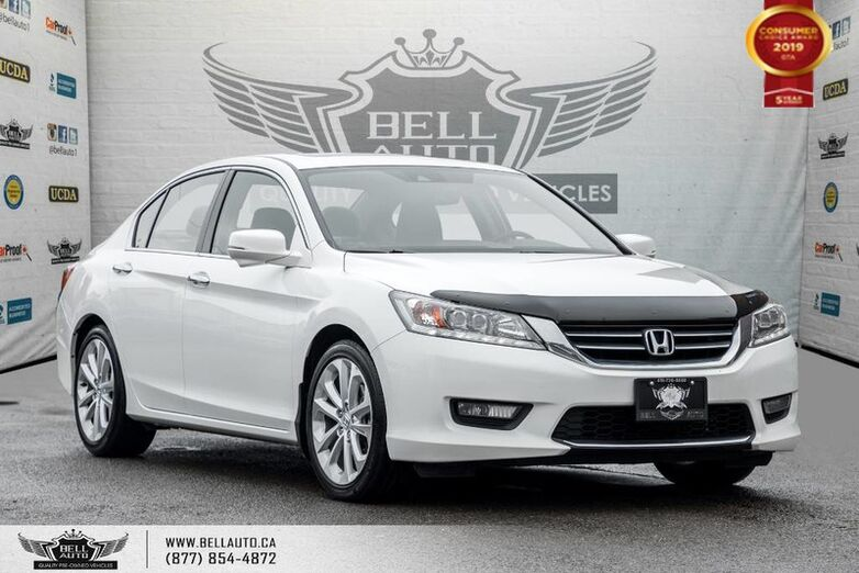 2015 Honda Accord Sedan Touring, NO ACCIDENT, NAVI, BACK-UP CAM, BLIND SPOT CAM Toronto ON