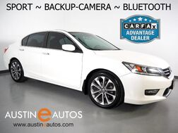2015_Honda_Accord Sport Sedan_*AUTOMATIC, BACKUP-CAMERA, STEERING WHEEL CONTROLS, CRUISE CONTROL, ALLOY WHEELS, BLUETOOTH PHONE & AUDIO_ Round Rock TX