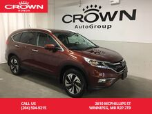 2015_Honda_CR-V_AWD 5dr Touring_ Winnipeg MB