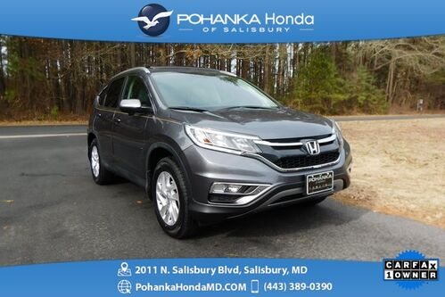 2015_Honda_CR-V_EX-L ** AWD **NAVI ** Honda True Certified 7 Year/100,0_ Salisbury MD