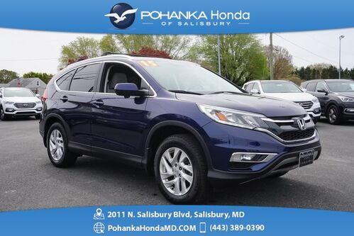 2015_Honda_CR-V_EX-L ** LEATHER & SUNROOF ** BEST MATCH **_ Salisbury MD
