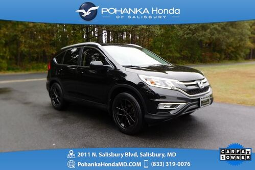 2015_Honda_CR-V_EX-L ** LEATHER & SUNROOF ** ONE OWNER **_ Salisbury MD