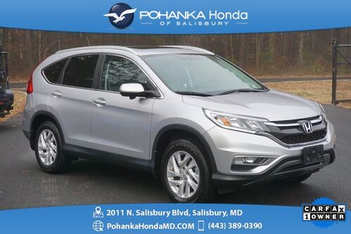 2015_Honda_CR-V_EX-L AWD ** NAVI & SUNROOF ** ONE OWNER **_ Salisbury MD