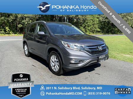 2015_Honda_CR-V_EX-L AWD / NAVI ** Certified 6 Month / 6,000 **_ Salisbury MD