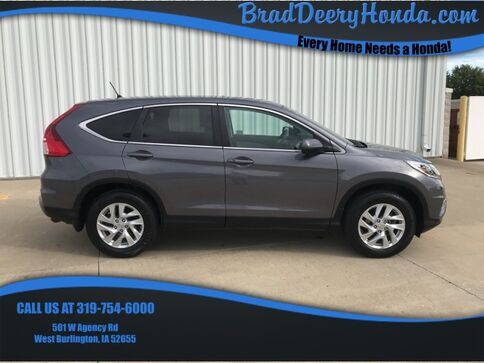 2015_Honda_CR-V_EX_ West Burlington IA