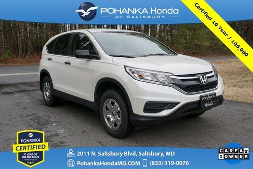 2015_Honda_CR-V_LX AWD ** Pohanka Certified 10 Year / 100,000 **_ Salisbury MD