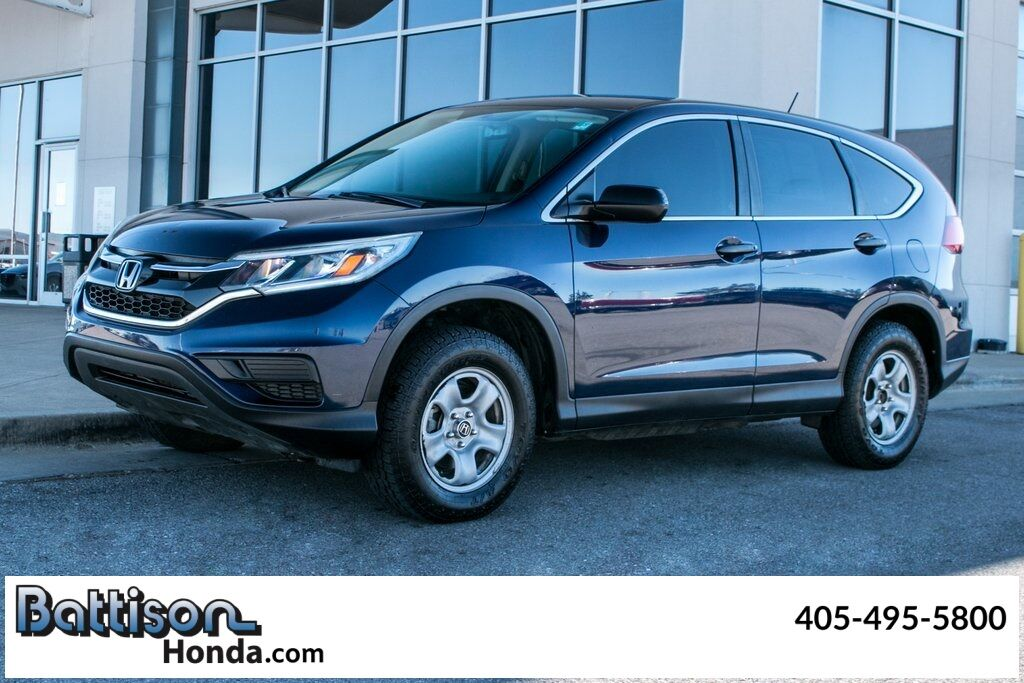 2015_Honda_CR-V_LX_ Oklahoma City OK