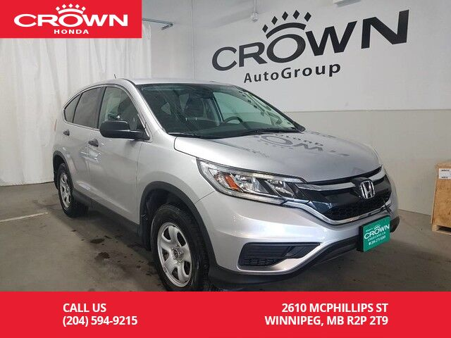 2015 Honda CR V LX/ REMOTE START/ BACK UP CAM/ HEATED SEATS ...